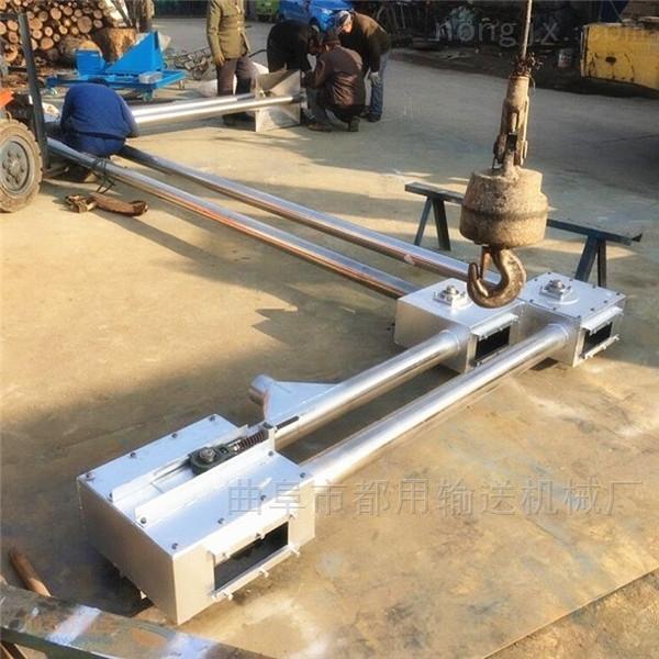 垂直管链式输送机,可拐弯水泥粉链条提升机