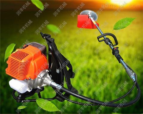 微型背负式秸秆收割机 夏季农田松土除草机