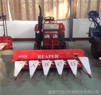 拖拉机带玉米割倒机 低矮庄稼专用割晒机