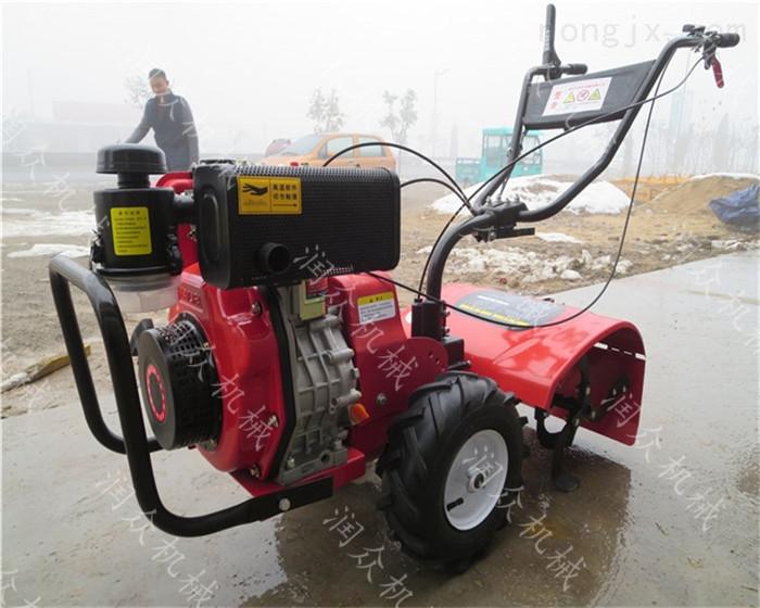 多用途柴油微耕机 农田大棚除草松土机