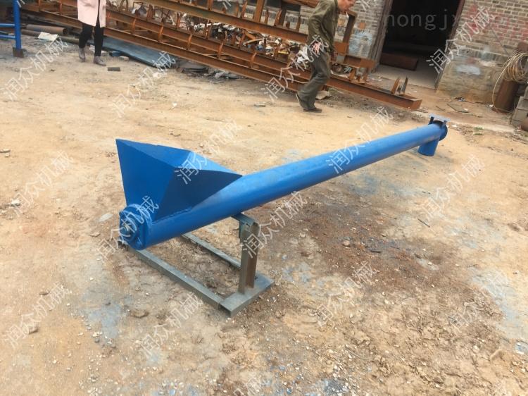 RZ TS-2-塑料顆粒蛟龍輸送機 碳鋼材質的鋼管提升機