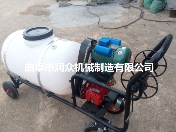 高射程的汽油喷雾器 自走式打药车价格