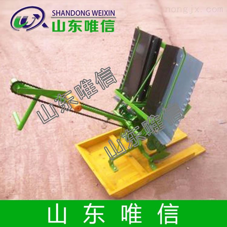 山东手扶水稻插秧机,唯信播种机械优点