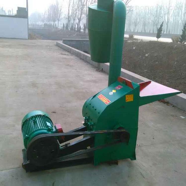 干湿稻草秸秆粉碎机 自动进料锤片式粉草机