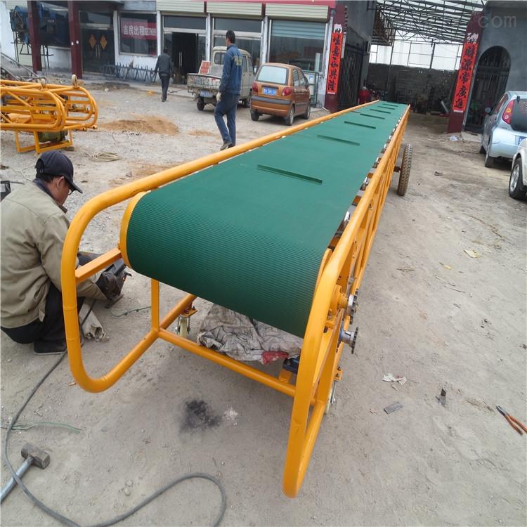 大型升降式皮带机防尘罩 矿用四滚筒输送机