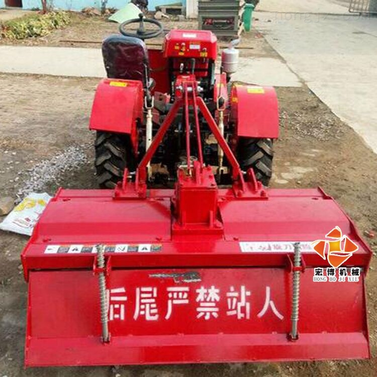 大棚旋耕机家用商用大马力拖拉机