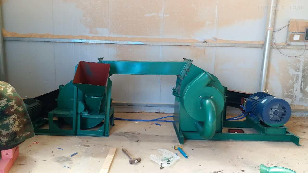 淄博木材粉碎机组粗细均可加工