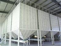 粮食方形钢板粮食烘干塔配套刮板输送机