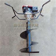 四轮带动钻洞机 多功能锰钢钻头挖坑机