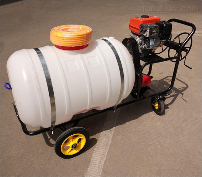 农用自走式喷药机 各种树木拉管式喷雾器