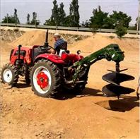 螺旋式地钻挖坑机 手提便利的挖树坑机