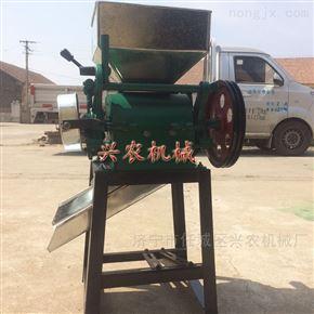 xnjx-02小型电动黄豆粮食挤扁机