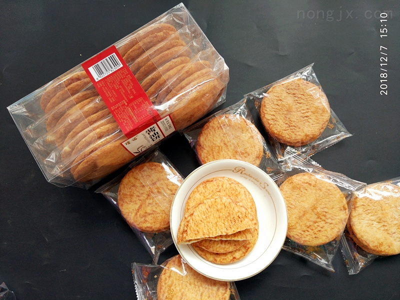 新品酱油饼膨化成型机设备产家直销