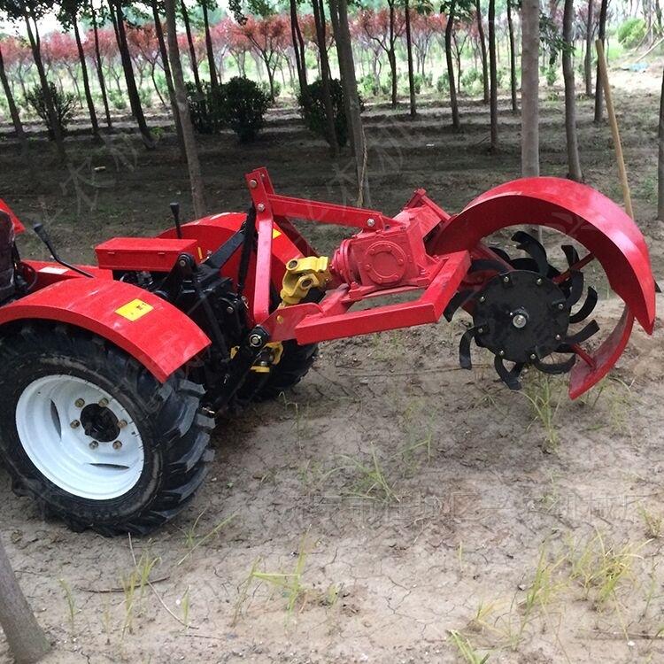 菜地用的除草起垄机 单缸两驱农用拖拉机