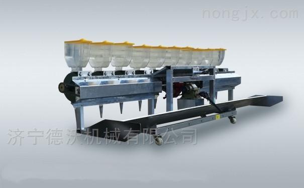 黑龙江小型水稻直播机生产厂水稻播种机视频