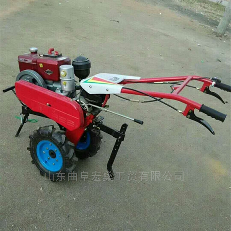 常州8馬力手扶式微耕機 果園苗圃旋耕除草機
