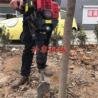 手提铲式挖树机