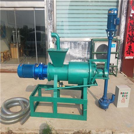 猪屎脱水分离机 积粪池处理机 液压泵粪便机