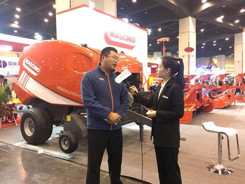 专访马斯奇奥(青岛)农机制造有限公司产品市场经理王月