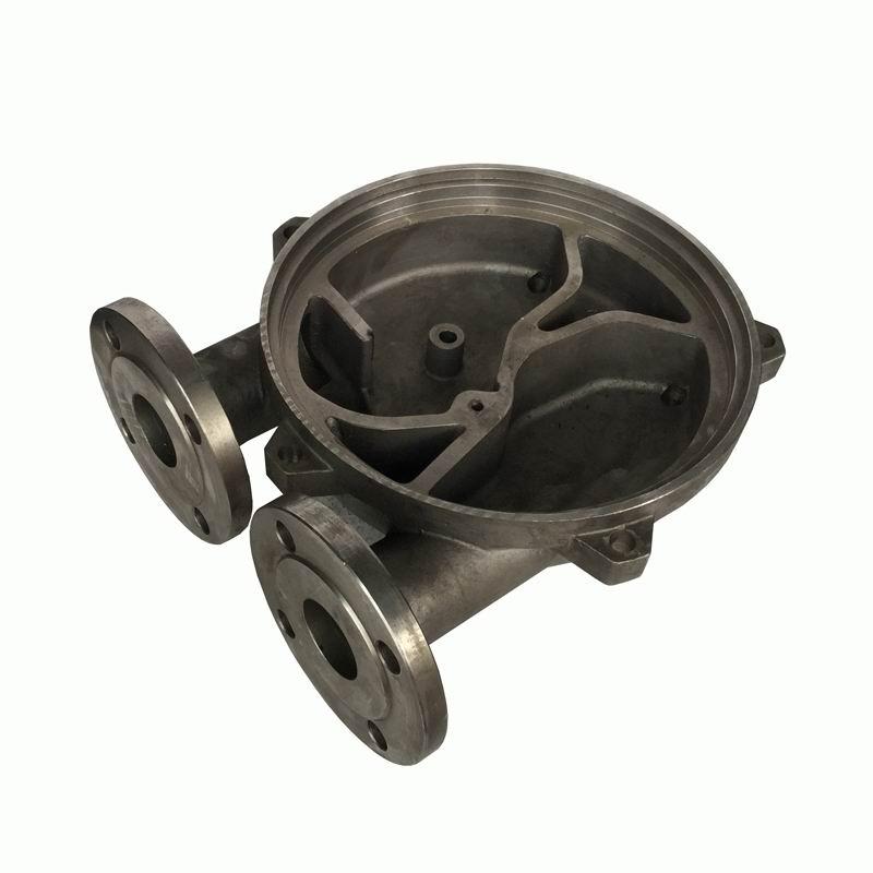 cdf2212t-ond2不锈钢真空泵配件 真空引水泵泵体侧盖图片