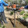 石河子多用途自走式挖坑机 黑土地汽油挖坑